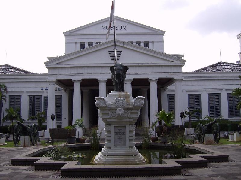 Jakarta National Museum Indonesia Central Gajah Nasional Kota Administrasi Barat