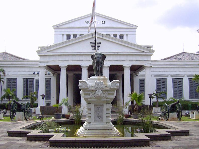 Obyek Wisata Jepege Museum Nasional Indonesia Gajah Kota Administrasi Jakarta