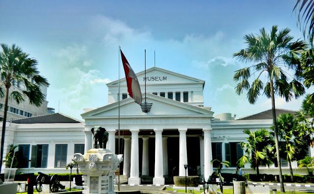 Wisata Jakarta Colour Indonesia Museum Nasional Populer Sebutan Gajah Sebuah