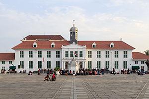 Jakarta History Museum Wikipedia Indonesia 02 Jpg Musium Fatahillah Kota
