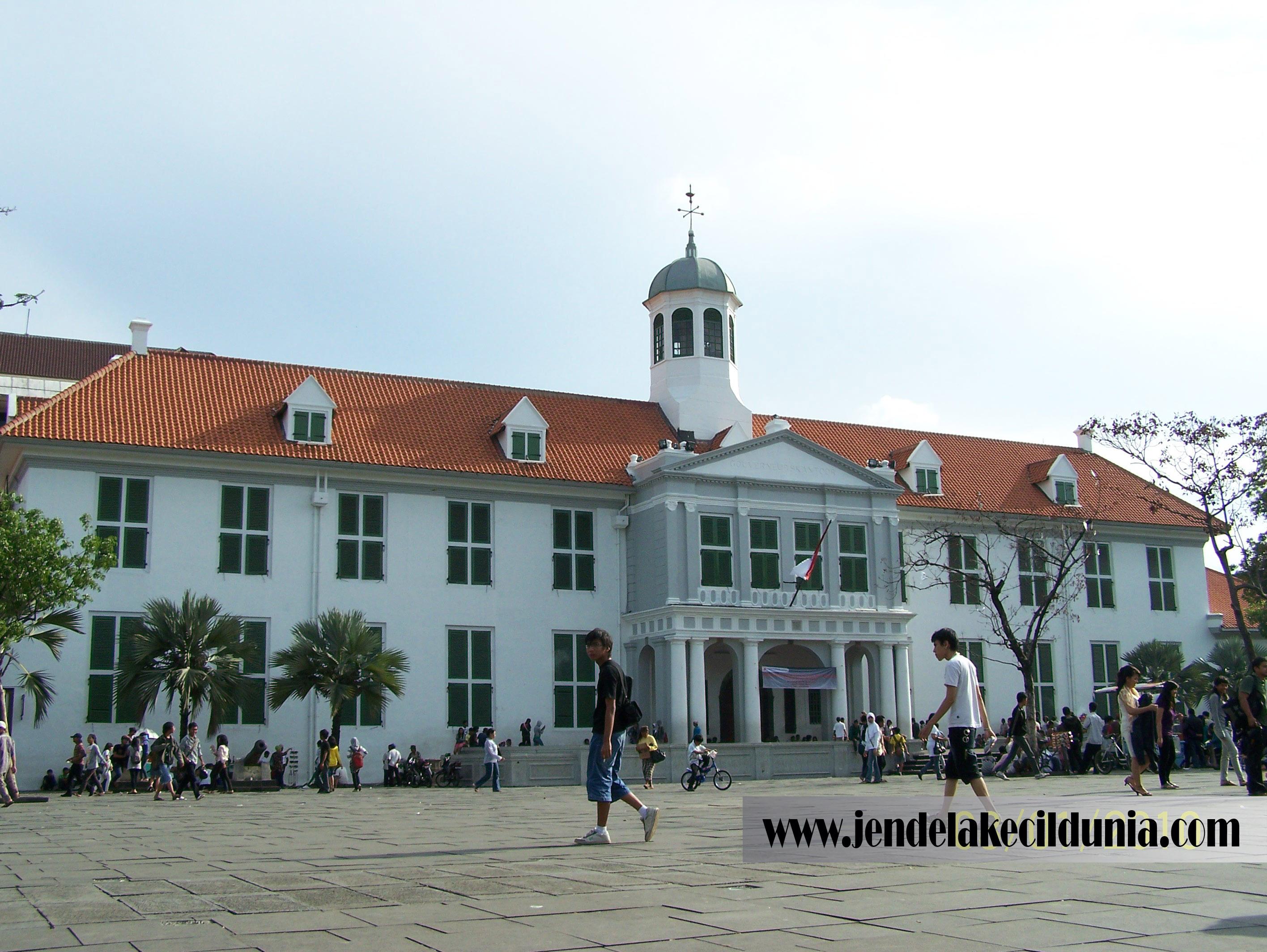 Jakarta Jendela Kecil Dunia Mendengar Kata Kota Tua Langsung Terbayang