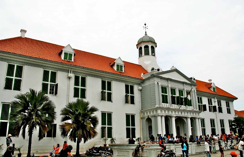 Jakarta Tips Wisata Kota Tua Batavia Oud Terletak Kelurahan Pinangsia