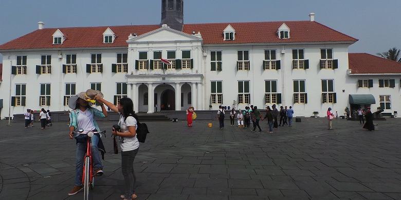 Kota Tua Jakarta Tak Sehebat Lalunya Halaman Kompas Musium Fatahillah