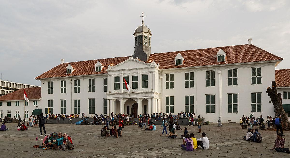 Kota Tua Jakarta Wikipedia Musium Fatahillah Administrasi Barat