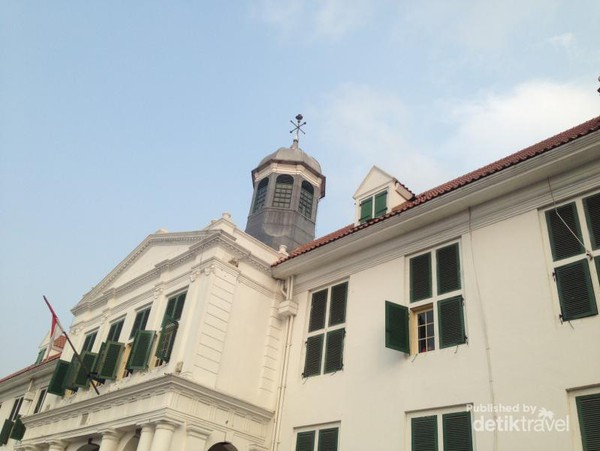 Mengintip Penjara Bawah Tanah Museum Fatahillah Jakarta Musium Kota Administrasi