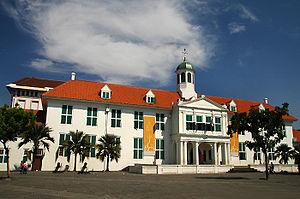 Museum Fatahillah Wikivisually Square Jakarta History Batavia Musium Kota Administrasi