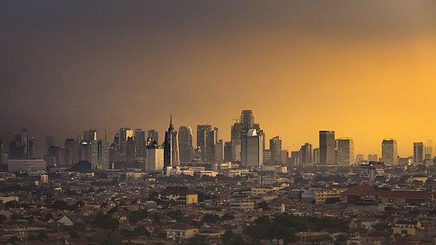 West Jakarta Wikipedia Sunset Musium Fatahillah Kota Administrasi Barat