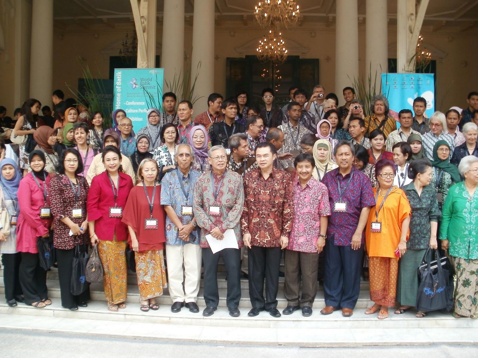 Wartanusantara Pameran Dialog Batik Museum Tekstil Mengakui Sebagai Bagian Budaya