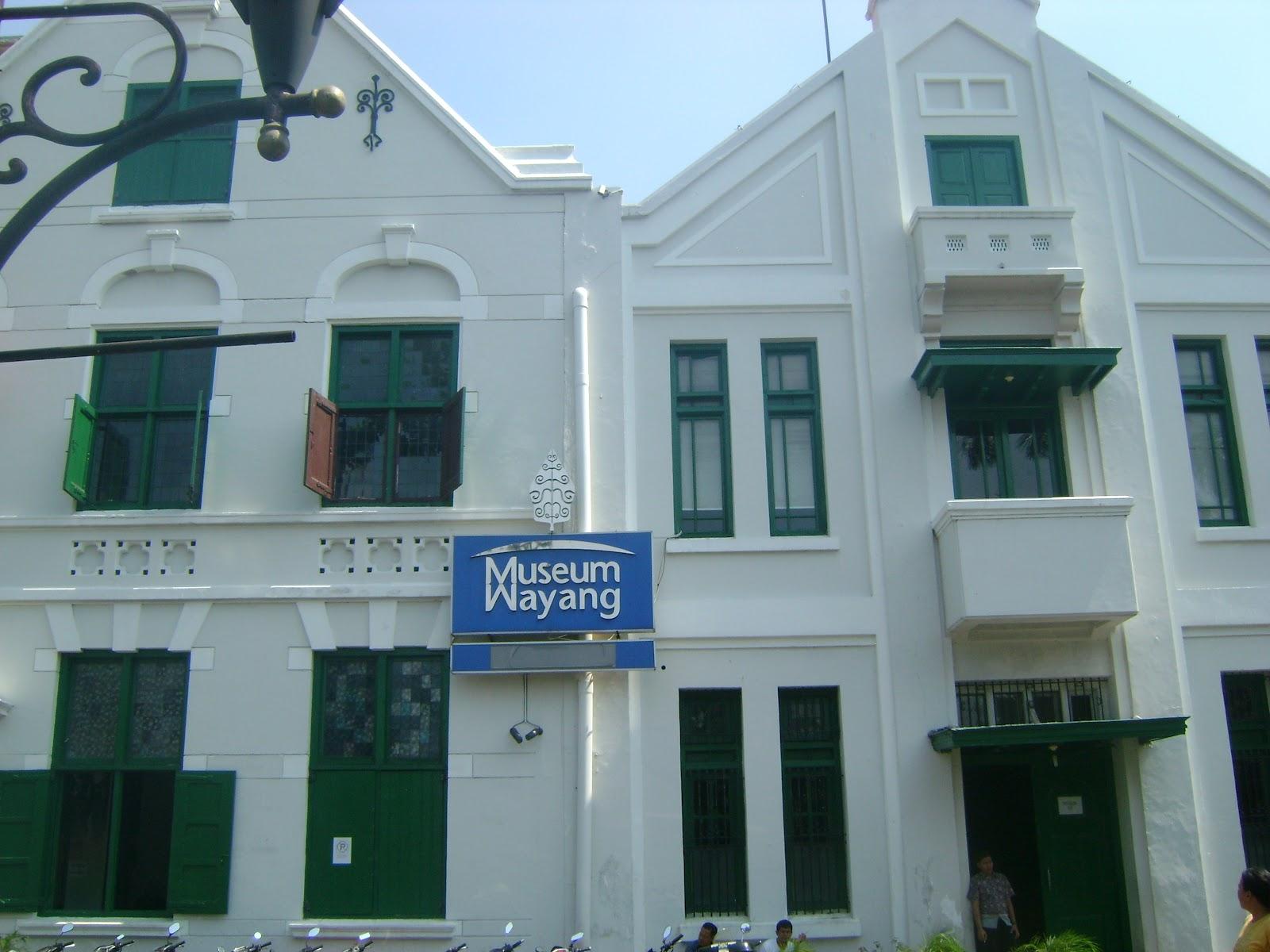 Juni 2012 Kekunaan Museum Wayang Musium Kota Administrasi Jakarta Barat