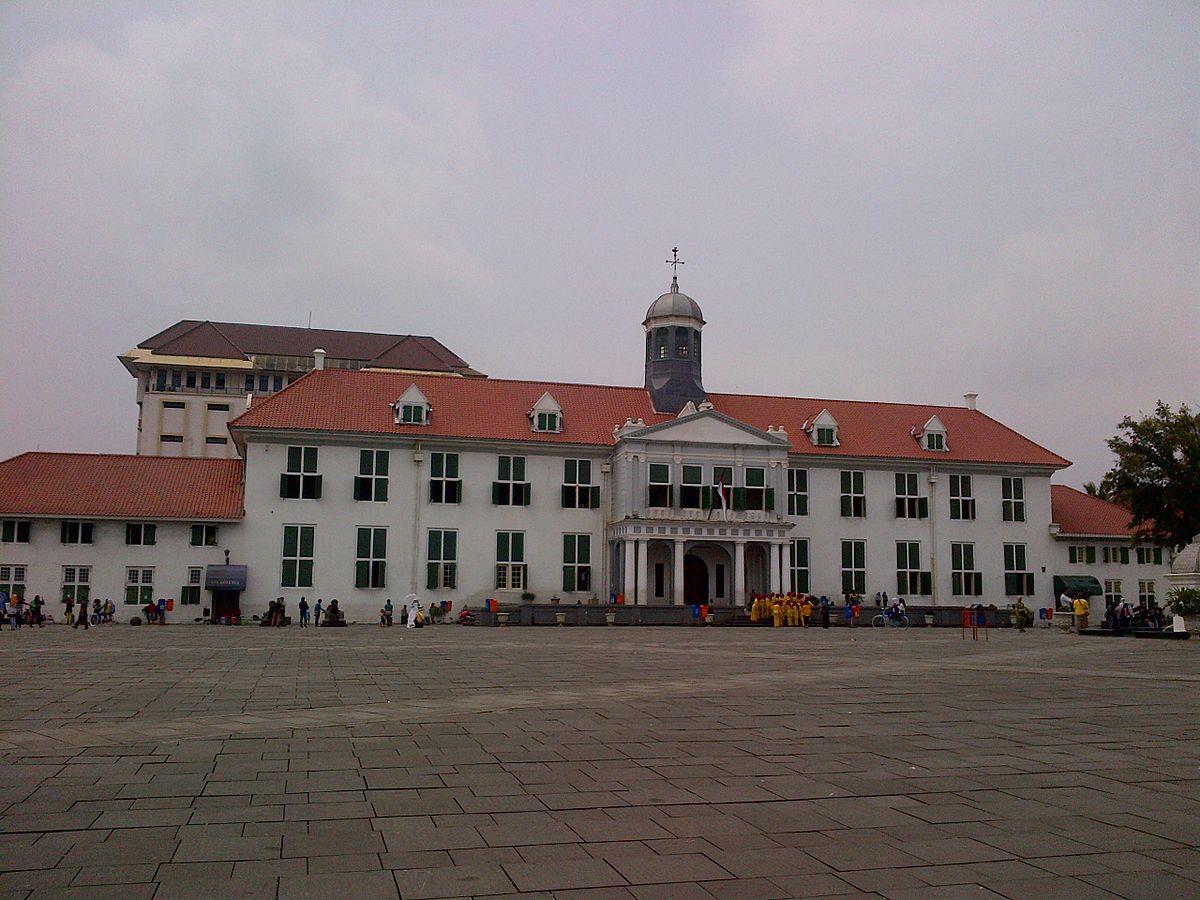 Kota Tua Jakarta Wikipedia Bahasa Indonesia Ensiklopedia Bebas Musium Wayang