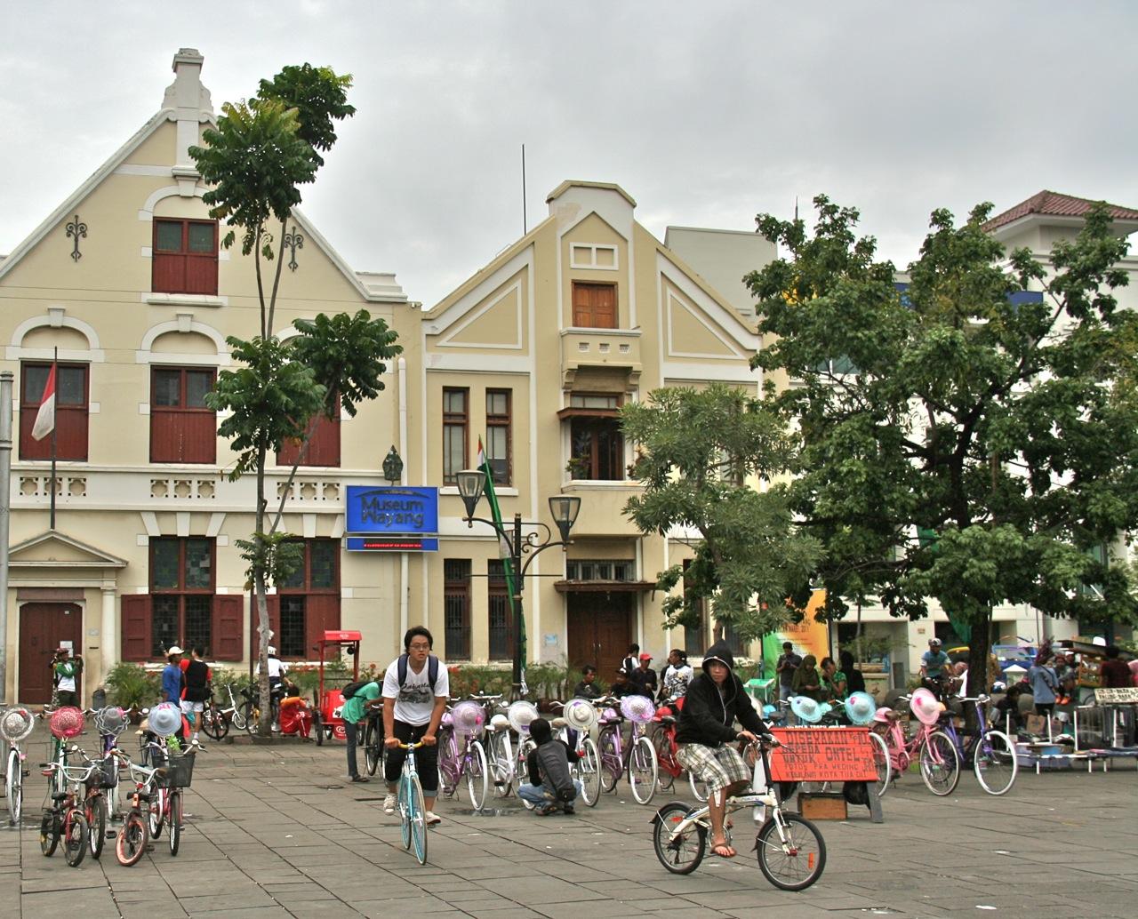 September 2015 Colour Indonesia Museum Fatahillah Dikenal Sebagai Sejarah Jakarta