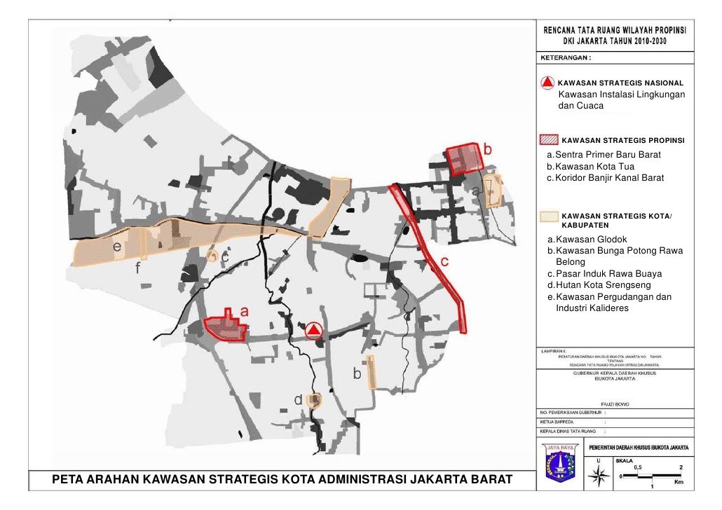 Bahan Paparan Rtrw Dki 2010 2030 Compatibility Mode Kota Administrasi