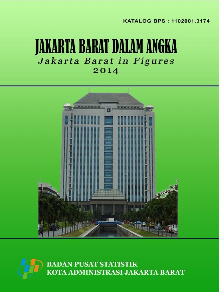 Jakarta Barat Angka 2014 Pasar Glodok Kota Administrasi