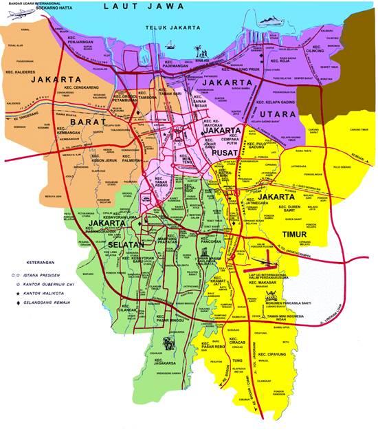 Kode Pos Jakarta Barat Pusat Pasar Glodok Kota Administrasi
