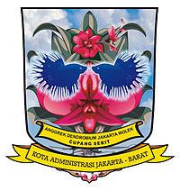 Kota Administrasi Jakarta Barat Wikipedia Bahasa Indonesia Seal West Jpg
