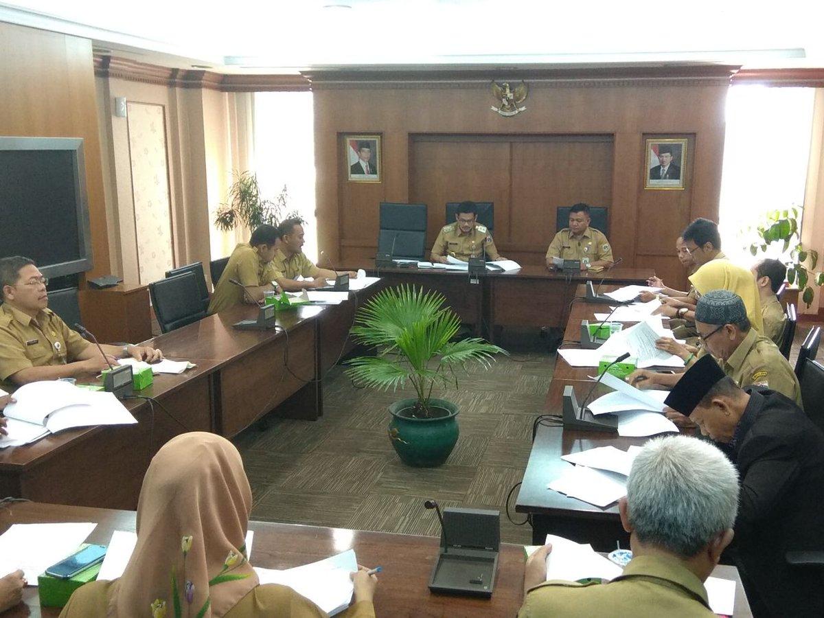 Wakil Walikota Memimpin Rapat Koordinasi Kegiatan Bulan Ramadhan Berita Fotokota
