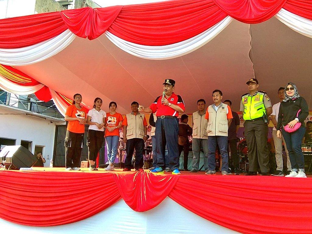 Walikota Memberikan Sambutan Kegiatan Hbkb Berita Foto Kota Fotokota Administrasi