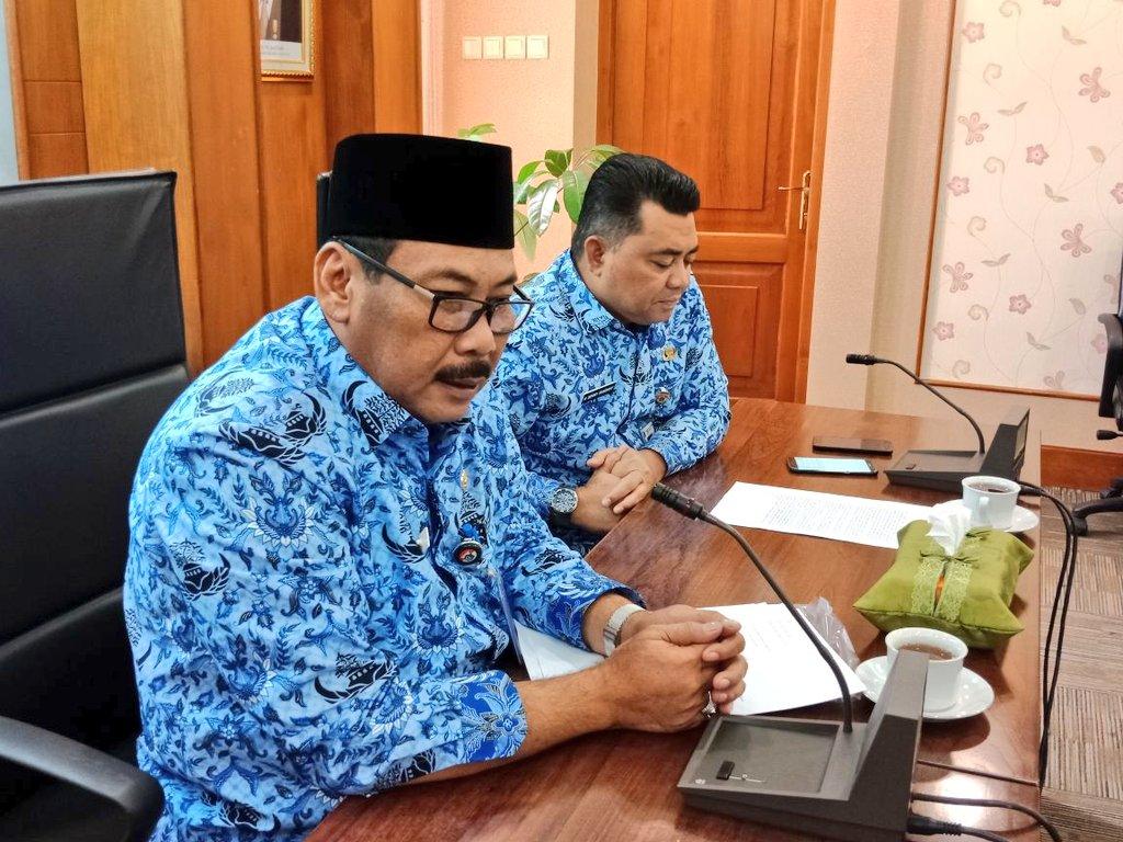 Walikota Memimpin Rapat Koordinasi Membahas Permohonan Pembongkaran Pagar Imb Berita