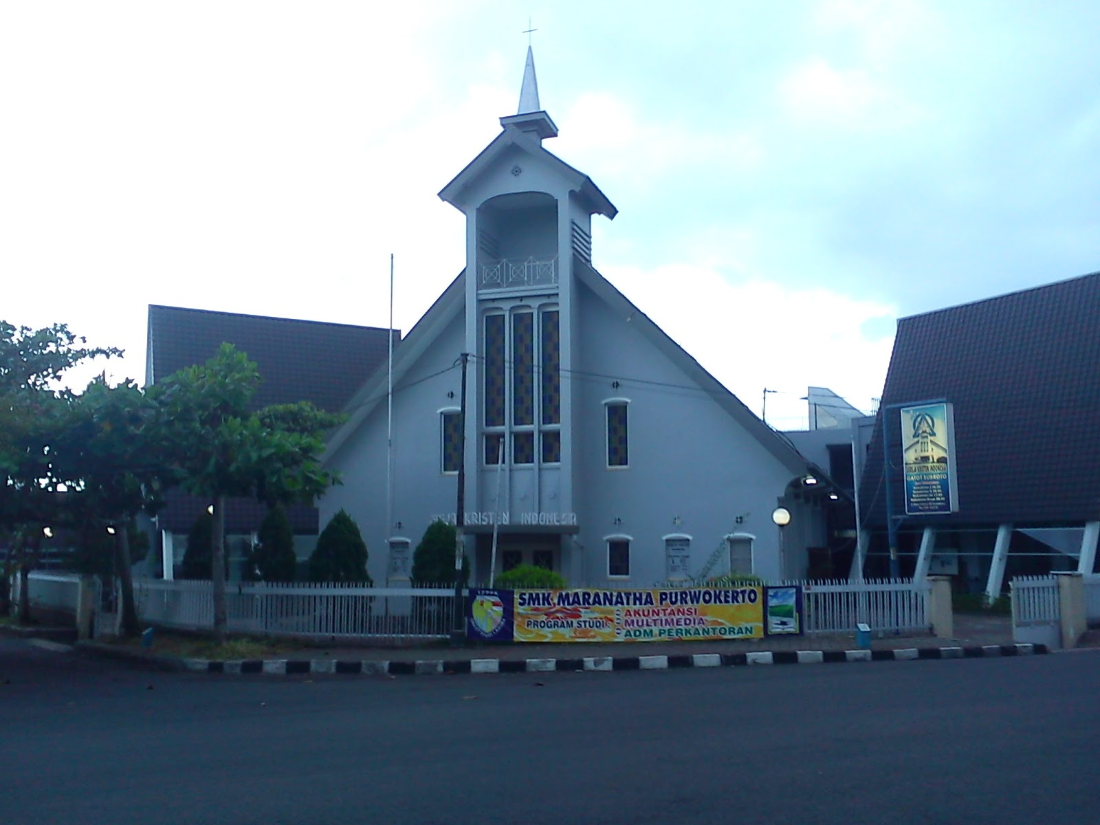 Awesome Life Jalanan Sudut Kota Purwokerto Gereja Kristen Indonesia Jl