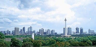 Daerah Khusus Ibukota Jakarta Wikipedia Bahasa Indonesia Pusat Pemerintahan Tempat