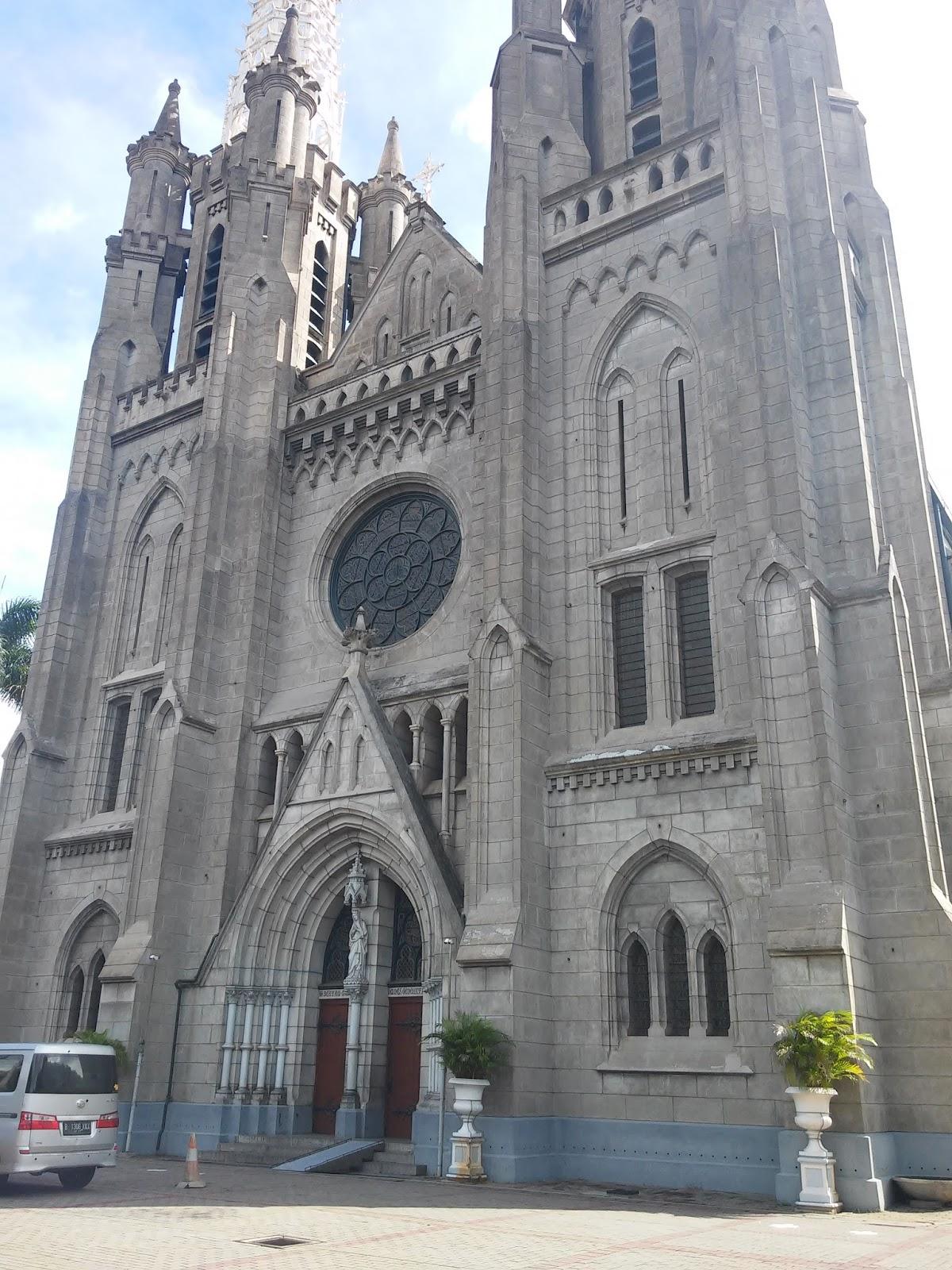 Februari 2016 Mikhael Wr Blog Objek Wisata Jakarta Gereja Katedral