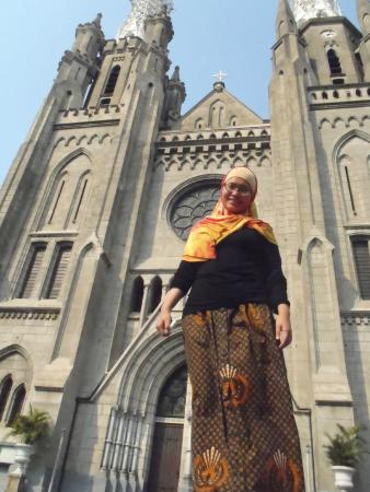 Gereja Katedral Bagian Depan Picture Jakarta Cathedral Kota Administrasi Pusat