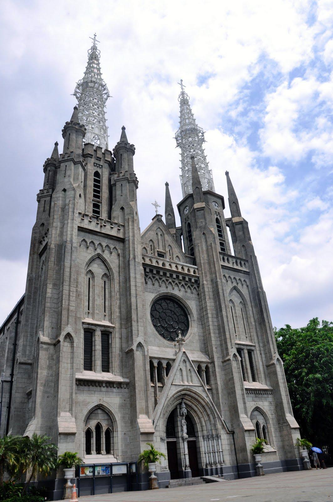 Gereja Katedral Jakarta Holidai Kota Administrasi Pusat