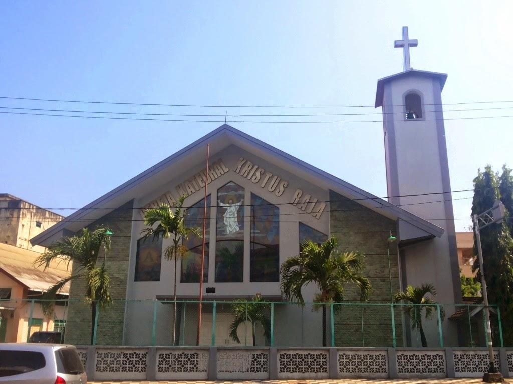 Gereja Katedral Kristus Raja Bandar Lampung Kota Administrasi Jakarta Pusat