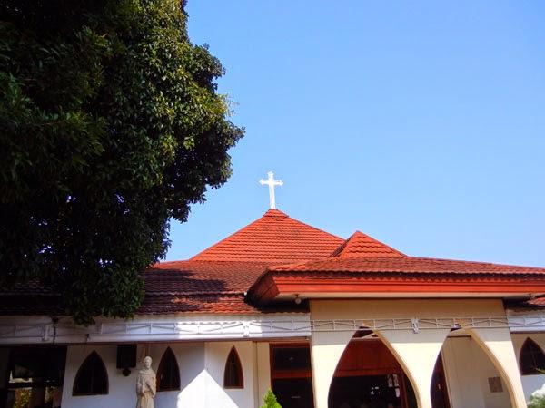 Gereja Katolik Santo Paulus Depok Sejarah Katedral Kota Administrasi Jakarta