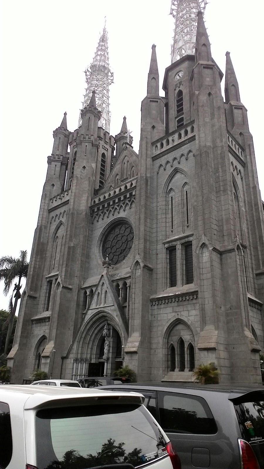 Inilahduniaku Bagian Gereja Katedral Jakarta Koleksi Terkenal Tongkat Paus Paulus