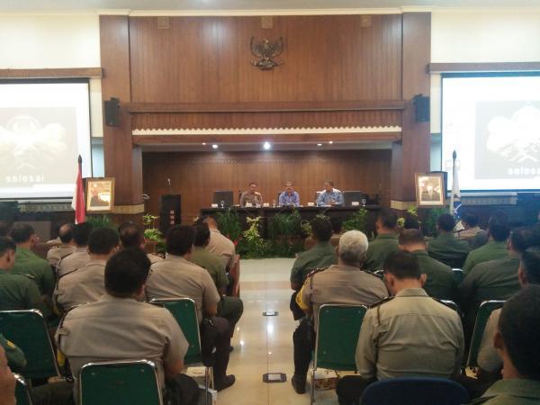 Jakarta Pusat Pemerintah Kota Administrasi Tiga Pilar Siap Amankan Natal