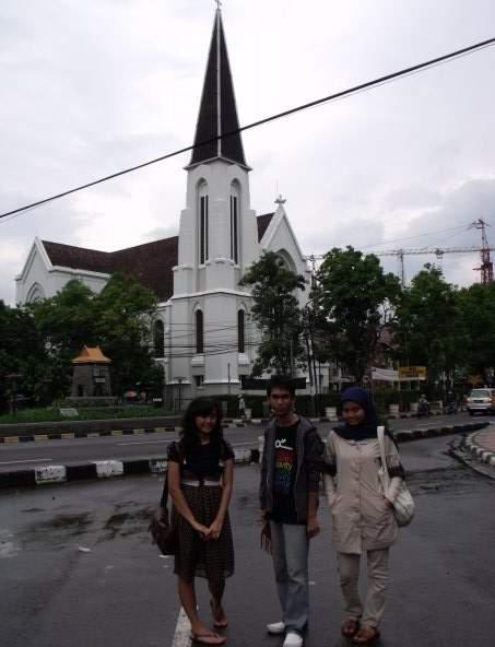 Jalan Heritage Gereja Katedral Bandung Oleh Yogi Fitra Kota Administrasi