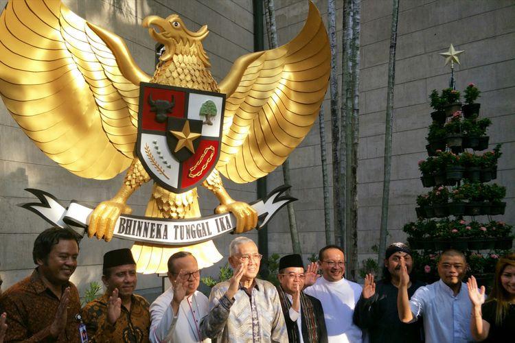 Membungkus Pancasila Gereja Katedral Jakarta Kompas Uskup Unit Kerja Presiden