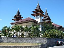 Paroki Roh Kudus Katedral Denpasar Wikipedia Bahasa Indonesia Gereja Kota