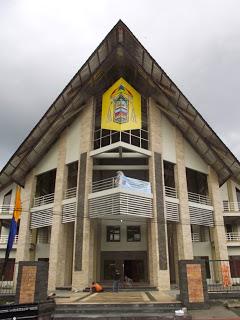 Paroki Santa Maria Assumpta Katedral Tanjung Selor Wikipedia Gereja Kota