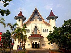 Paroki Santa Maria Katedral Palangkaraya Wikipedia Bahasa Gereja Kota Administrasi