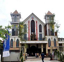 Paroki Santo Yohanes Don Bosco Sampit Wikipedia Bahasa Indonesia Gereja