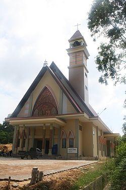Paroki Santo Yosef Bontang Wikipedia Bahasa Indonesia Gereja Katedral Kota