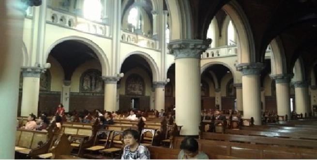 Personil Amankan Peribadatan Paskah Gereja Katedral Jakarta 360 Kota Administrasi