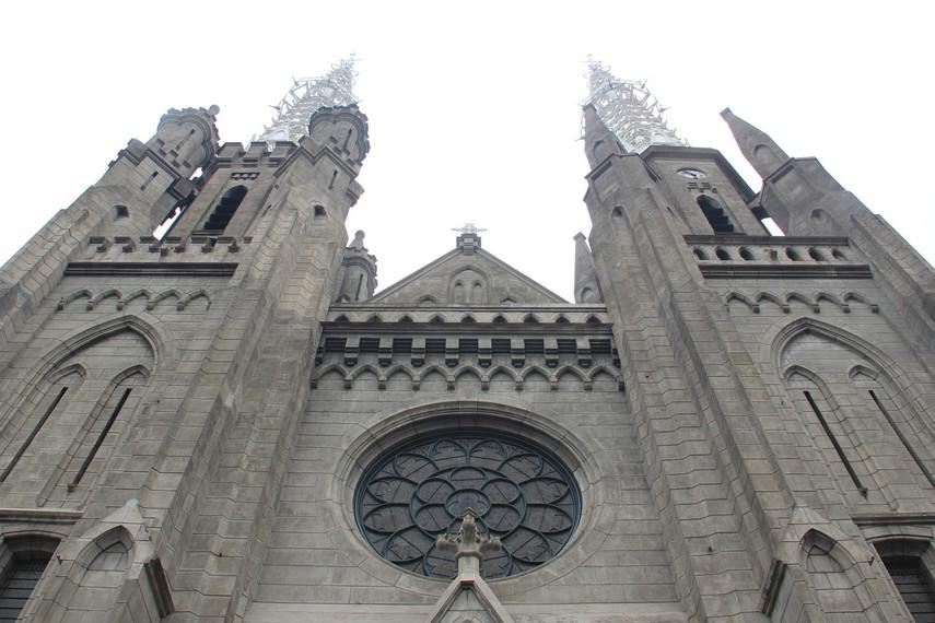 Sejarah Panjang Gereja Katedral Jakarta Indonesiakaya Berlokasi Jalan Pasar Sawah