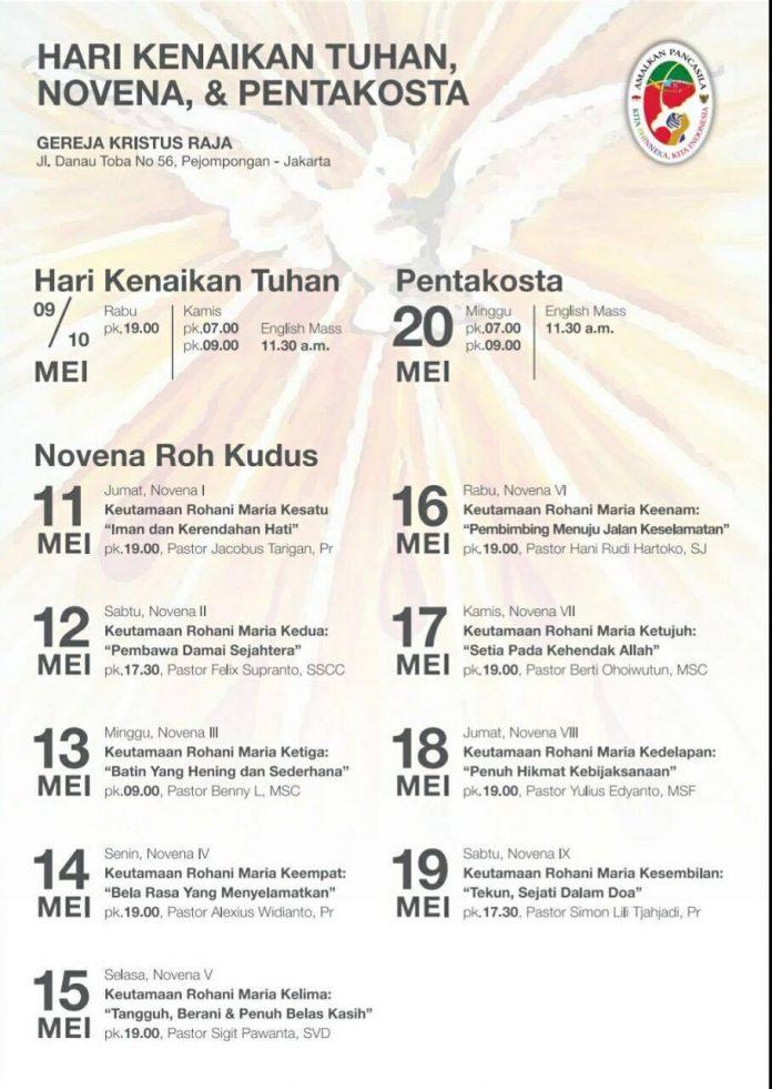 Sesawi Net Portal Berita Katolik Indonesia Page 11 Novena Gereja