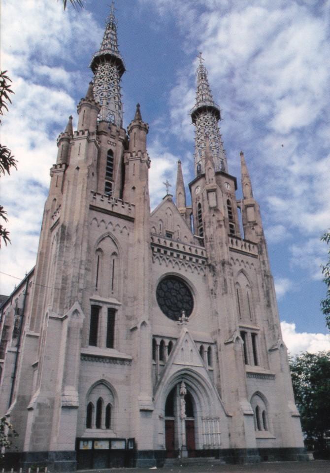 Sobekan Cerita Laman 4 Museum Katedral Jakarta Gereja Kota Administrasi