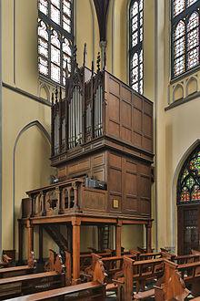 St Mary Assumption Cathedral Jakarta Wikipedia Pipe Organ Edit Gereja