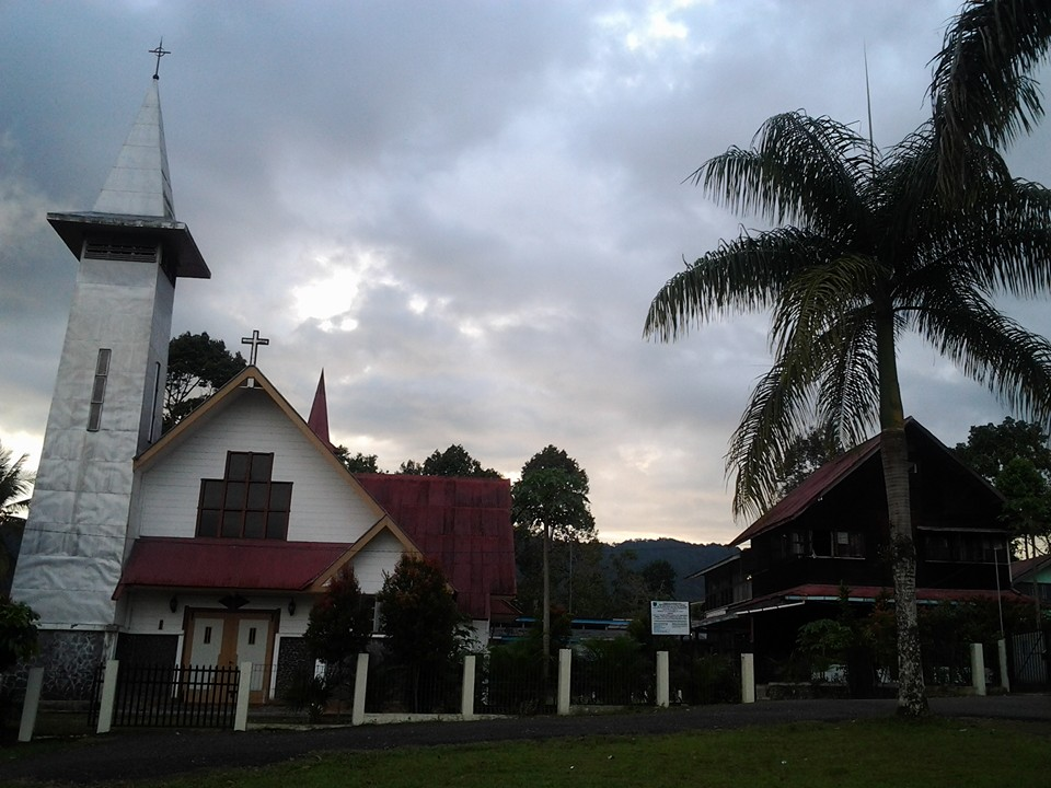 Toasebio Gereja Katolik Berarsitektur Tionghoa Jejaka Nusantara Paroki St Mikael