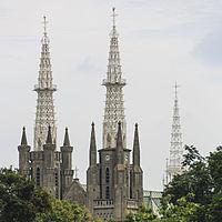 Wikizero Jakarta Cathedral Gereja Santa Perawan Maria Diangkat Surga Paroki