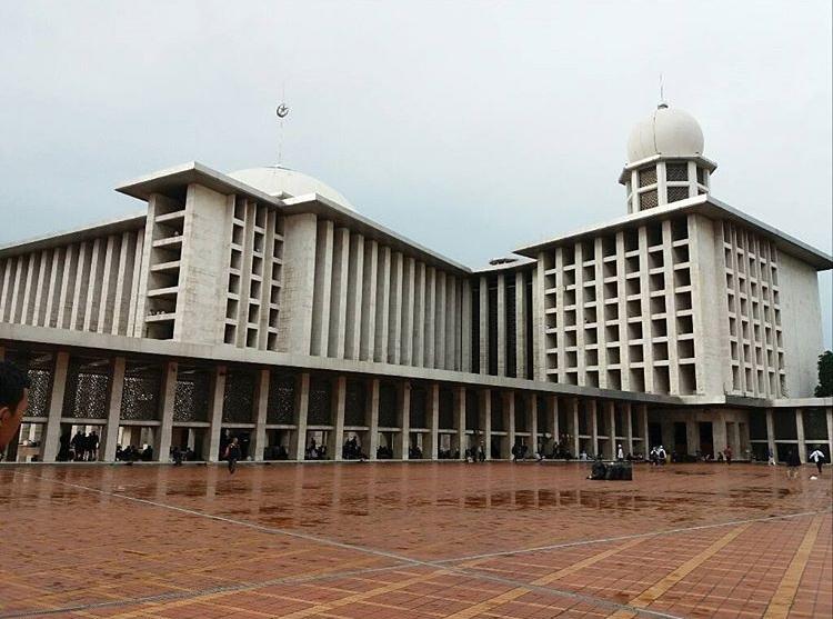 10 Tempat Wisata Jakarta Eksis Kamu Masjid Istiqlal Kota Administrasi