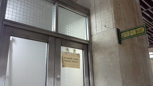 Ayo Berkunjung Mengenal Masjid Istiqlal Jakarta Ruang Operator Sound System