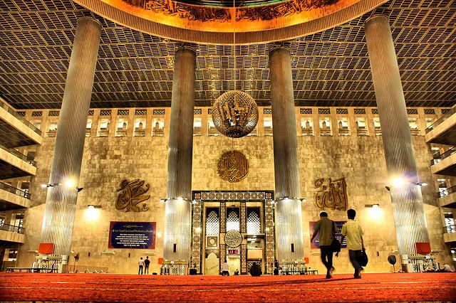 Jakarta Javaexist Bagian Masjid Istiqlal Sumber Www Kotawisataindonesia Kota Administrasi