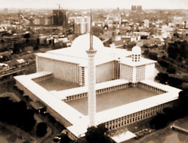 January 2008 Arie Saksono Masjid Istiqlal Specs Kota Administrasi Jakarta