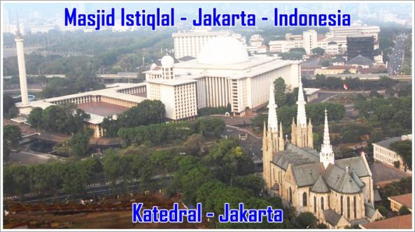 Masjid Istiqlal Andhika Blog Cathedral Kota Administrasi Jakarta Pusat
